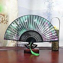 Daeou Seide Falten Handwerk Geschenk Fan