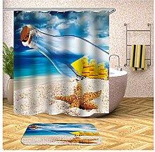 Daesar Badematte Waschbar rutschfest 40x60