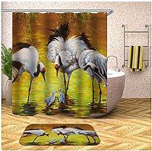 Daesar Badematten WC Vorleger 40x60 3 Vögel