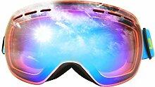 Daesar Brille Winddicht Unisex Orange Skibrille