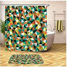 Daesar Dreieck Muster Badematte Waschbar 40x60