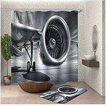 Daesar Flugzeug 40x60 Badematte WC Vorleger