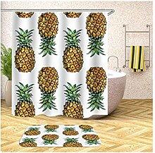 Daesar Obst Ananas Badematte Toilette 40x60