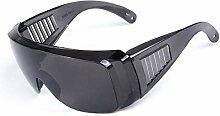 Daesar Schutzbrille Rotlichtlampe Grau Sportbrille