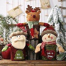 Bada Bing 2er Set Keksdose Schneemann Weihnachtsmann Santa Pl/ätzchendose Weihnachten