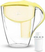 Dafi Astra 3L Classic Filterkanne Wasserfilter Tischwasserfilter inkl. 1x 30-Tage Classic Filterkartusche. In verschiedenen Farben erhältlich Farbe:Yellow