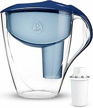 Dafi Astra 3L Classic Filterkanne Wasserfilter Tischwasserfilter inkl. 1x 30-Tage Classic Filterkartusche. In verschiedenen Farben erhältlich Farbe:Navy Blue