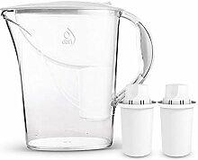 Dafi Atria 2,4L Classic Filterkanne Wasserfilter Tischwasserfilter inkl. 2x 30-Tage Classic Filterkartusche. In verschiedenen Farben erhältlich. White