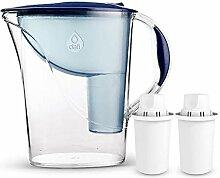 Dafi Atria 2,4L Classic Filterkanne Wasserfilter Tischwasserfilter inkl. 2x 30-Tage Classic Filterkartusche. In verschiedenen Farben erhältlich. Navy Blue