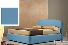 Dafnedesign.com Doppelbett mit Stauraum, Bezug aus