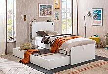 Dafnedesign.com Einzelbett und Bettkasten für
