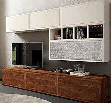 Dafnedesign.com Wandtafel für Wohnzimmer, weiß