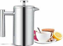 DAGUAI Kaffeebereiter, 350 ml, doppelwandig,
