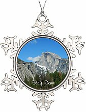 Daily Lady Yosemite Keramik rund Weihnachten