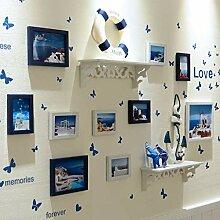 dainufeng Fotorahmen Wand Collage Für 10 Fotos,