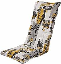 Dajar 457860 Stühle und Sessel Auflage Capri Hoch, mehrfarbig