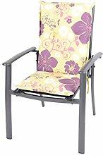 Dajar 49847 Stühle und Sessel Auflage Malaysia, mehrfarbig