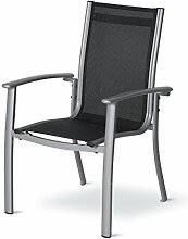 Dajar Esstühle Stuhl Acapulco, silber