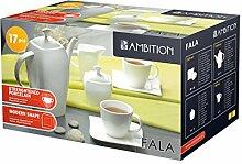 Dajar Kaffee-Set Welle 17 TLG. Ambition,