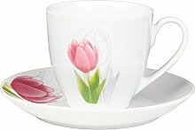 Dajar Kaffeeservice TULPE 12-TLG, Porzellan,