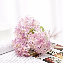 Dajidali@ Hortensie Blume Blume Blume Dekoration Dekoration Simulation, Rosa