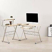 Dakea Schreibtisch Computertisch PC Tisch Ecke mit