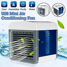 DAKERTA USB Air Cooler Leakproof Luftkühler