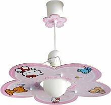 Dalber 10252 Hängeleuchte Hello Kitty Kinderzimmer Lampe Leuchte