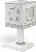Dalber 63231T Tischlampe Blauer Mond Kinderzimmer