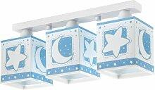 Dalber 63233T Deckenlampe 3L. Blauer Mond
