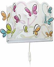 Dalber Butterfly kinder Wandlampe, Kunststoff, 60