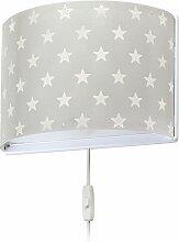 Dalber kinder wandlampe Sterne Stars Grau,