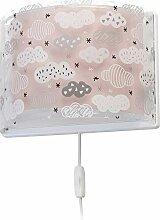 Dalber Wandlampe Clouds Rosa, Kunststoff, 60 W