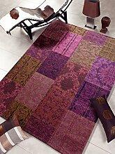 DALLIANCE CLASSIC Vintage Patchwork Velour Teppich