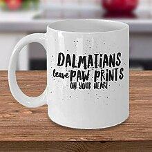 Dalmatiner Kaffeetasse Dalmatiner Geschenkidee