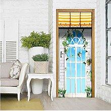dalongshan Türposter,Europäische Gartenfenster