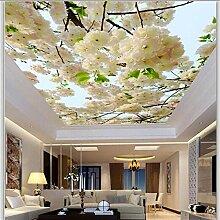 Dalxsh Wohnzimmer-Decken-Dach-Tapete 3D Der