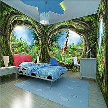 Dalxsh Benutzerdefinierte 3D-Fototapete Wald Baum