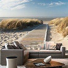 Dalxsh Fototapete Nordsee Strand Auf Strand Ozean