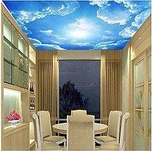 Dalxsh Fototapete Wohnzimmer Dach Tapete 3D