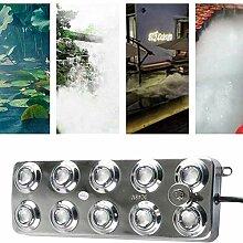 DAMAI Ultraschall-Nebelmaschine 4.5L/H 10 Kopf