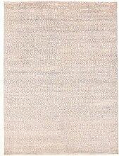 Damask Teppich Orientalischer Teppich 355x263 cm, Indien Handgeknüpft Designer