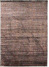 Damask Teppich Orientalischer Teppich 356x253 cm, Indien Handgeknüpft Designer