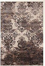 Damask Teppich Orientteppich 300x198 cm, Indien Handgeknüpft Designer