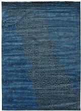 Damask Teppich Orientteppich 354x253 cm, Indien Handgeknüpft Designer