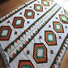 Damaskunst 200x135 cm Orientalischer Teppich,