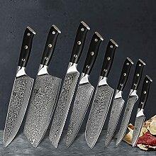 Damaskus 67 Schichten Stahl Chefmesser Santoku