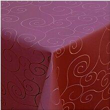 Damast Tischdecke Tafeltuch Ornamente Design 130cm