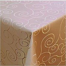 Damast Tischdecke Tafeltuch Ornamente Design 220cm