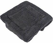 Damen Herren Saunakilt Sauna Sarong Klettverschluss Baumwolle Frottier - flauschig weich, Auswahl:grau, Größe:Damen 80x155cm